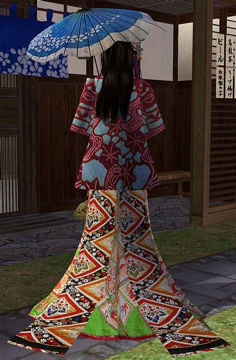 mod  sims kimonohaori midori
