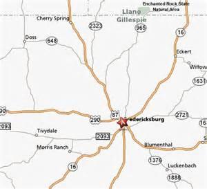 map of enchanted rock state area fredericksburg