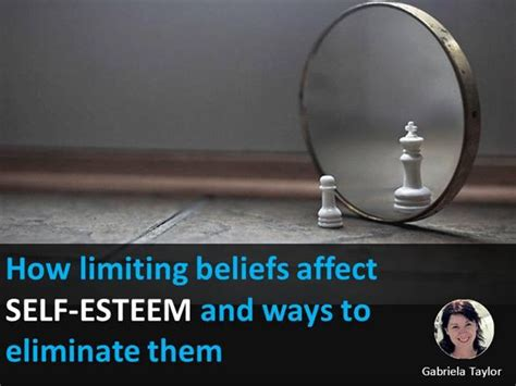 How Limiting Beliefs Affect Self Esteem And Ways To Eliminate Them Authorstream Self Esteem Powerpoint Templates