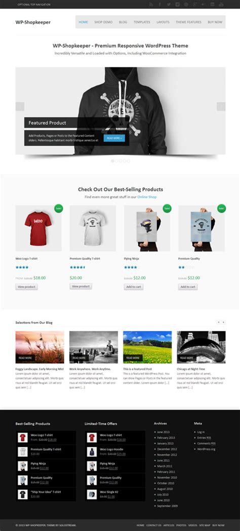 theme wordpress free responsive ecommerce responsive ecommerce wordpress theme wp shopkeeper