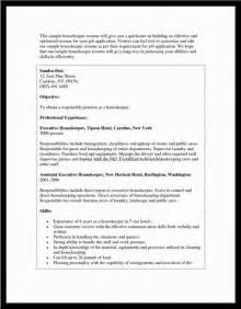 the most awesome housekeeping skills for resume resume