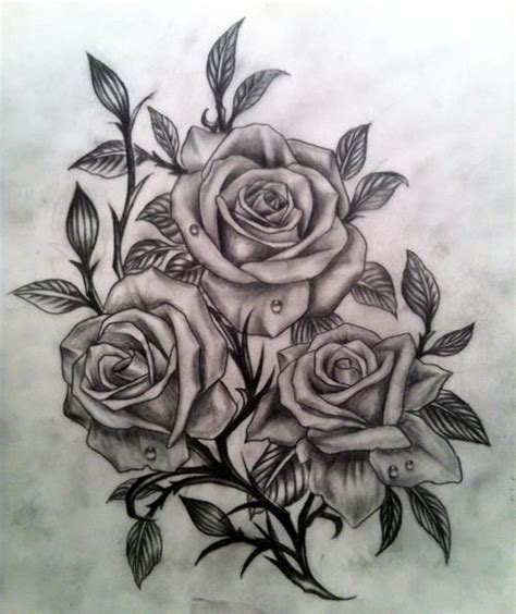 realistic rose tattoo designs realistic black and grey roses would make a great