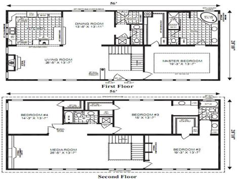 Most Popular Floor Plans by Open Floor Plans Small Home Modular Home Floor Plans Most