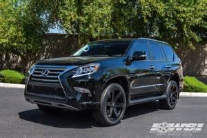 lexus gx 460 custom wheels black rhino peak 22x et tire