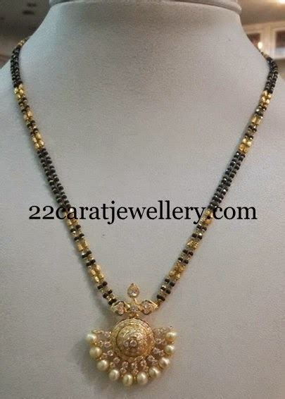 black bead necklace indian black cz necklace black and indian jewelry
