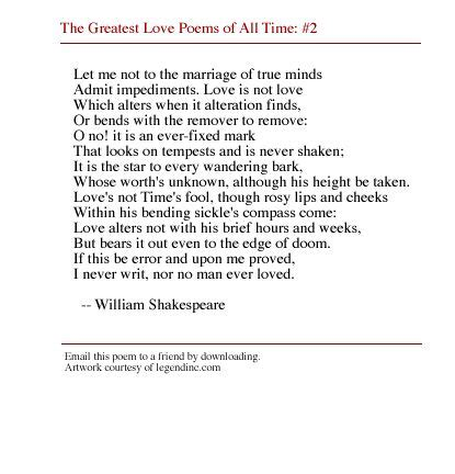 themes of the facebook sonnet best 25 sonnet 116 ideas on pinterest