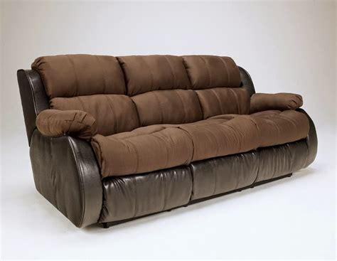 Cheap Recliner Sofas For Sale Presley Cocoa Reclining Sofa And Recliner