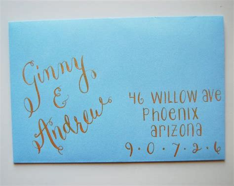 What Should The Return Address Be On Wedding Invitations