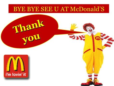 mcdonalds powerpoint template mc donalds ppt