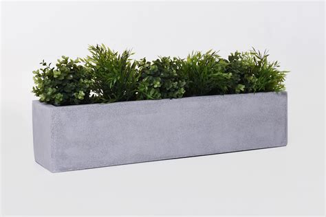 beton blumenkasten blumenkasten fensterbankkasten fiberglas quot flobo quot beton