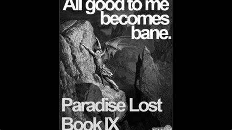 themes paradise lost book 9 cohen john ix biography