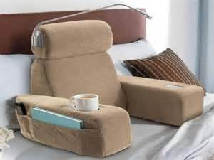 bed rest pillow with cup holder bed chair pillow bing images