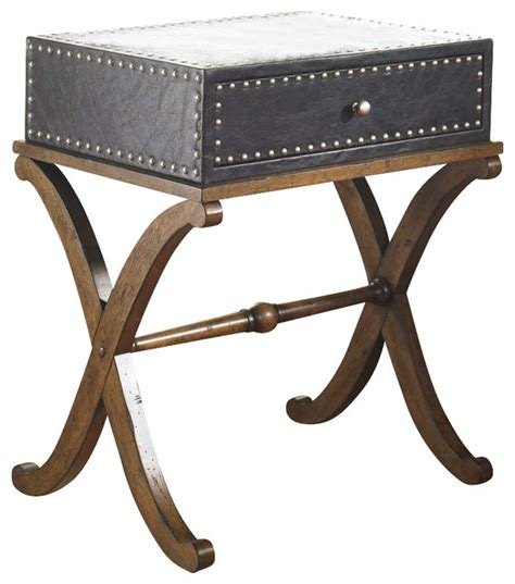 tuscan accent tables tuscan spanish style accent end table trunk design black