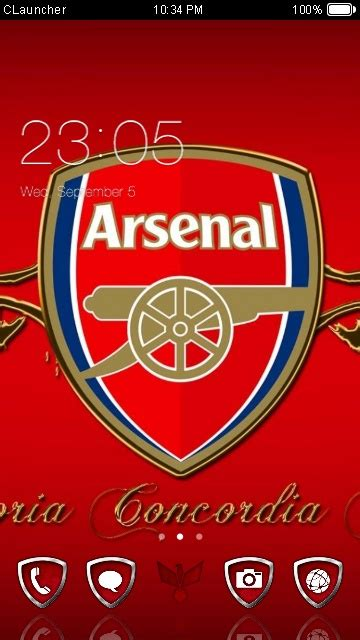 download themes arsenal download arsenal theme for your android phone clauncher