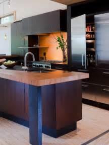 zen kitchen design modern kitchen design gardner mohr architects kitchen with wood countertops dark cabinets