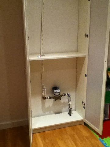 Billy water meter cover   IKEA Hackers   IKEA Hackers