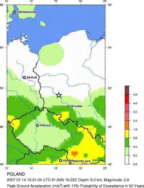 usgs geological survey bulletin 1493 what is the great usgs earthquake hazards program seismic hazard map poland