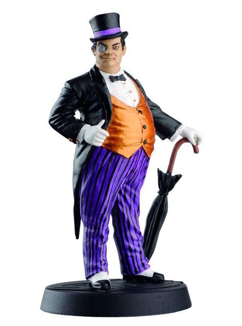 The Pinguin Based On Dc Comic Character eaglemoss marvel comics captain marvel lead figurine