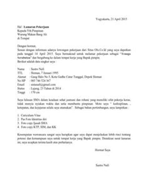 Contoh Surat Lamaran Kerja Jadi Supir - Downlllll