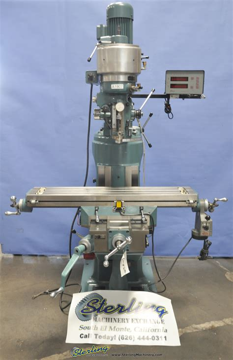 enco vertical milling machine step pulley