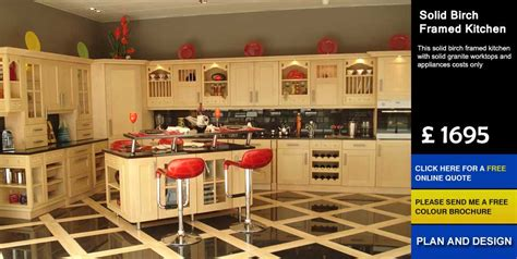 cheap kitchen cabinets uk solid birch framed affordable cheap kitchens