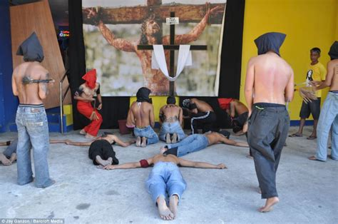 Thursday Three Are Doing It For Themselves by Penitent Filipinos Whip Themselves To Atone For