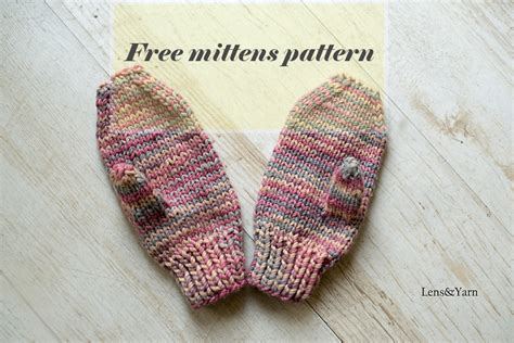 mitten knitting pattern for beginners how to knit mittens a free pattern for mittens suitable