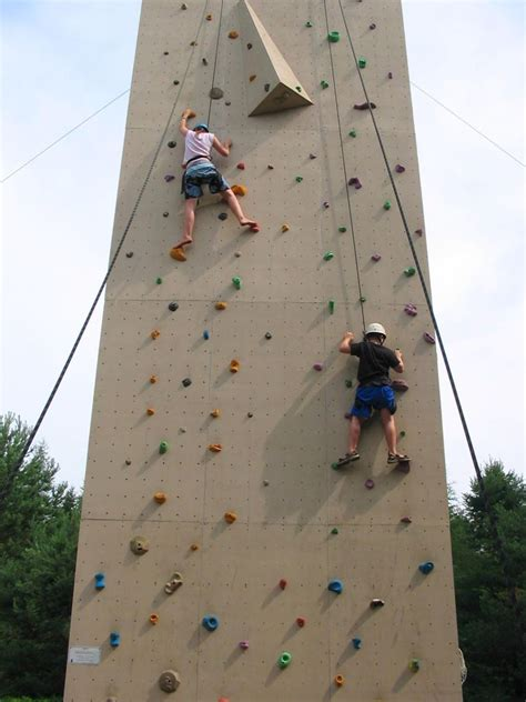 rock climbing wall for backyard outdoor rock climbing medeba