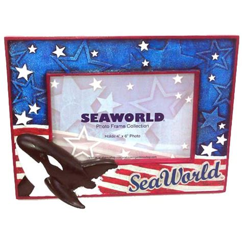 Sale Frame Foto Resin Hello Wedding White Edition 3r your wdw store sea world picture frame shamu american traditions 4 x 6