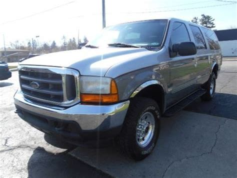 2000 Ford Excursion Xlt by Purchase Used 2000 Ford Excursion Xlt In Angola Indiana