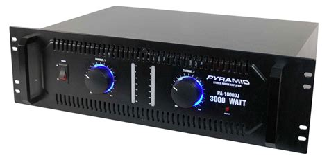 Power Lifier 3000 Watt pyramid pa1000dj 3000 watts stereo power lifier pa1000dj
