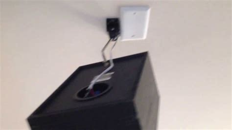 wall ceiling speaker mounting heavy   youtube