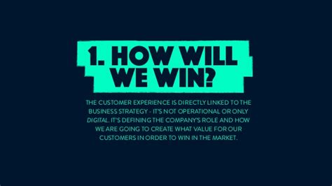 best customer experience in the end the best customer experience wins no matter