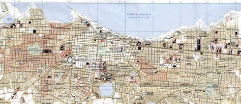 managua nicaragua map free nicaragua maps