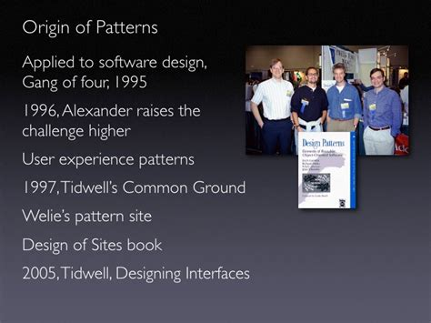 design pattern gang of four book ria patterns best practices for common patterns of rich