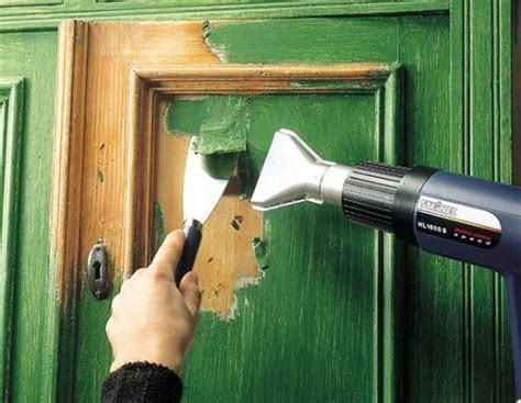 how to remove paint from woodwork removing paint from the wooden door