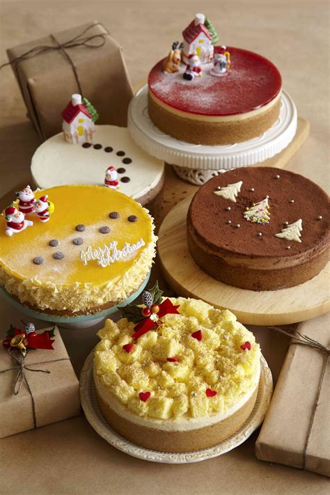 cheesecakes over log cakes this christmas weekender