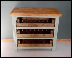 salvoweb vintage style wooden kitchen island storage unit buttermilk cherry wood kitchen island cabinet wine rack