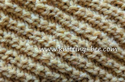knit stitch pattern library knit and purl stitches you ll working with all free