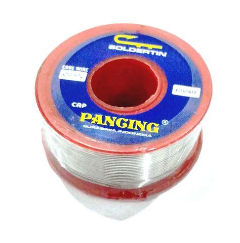 Timah Pancing 0 8 250gr jual timah solder pancing nusantara ltc