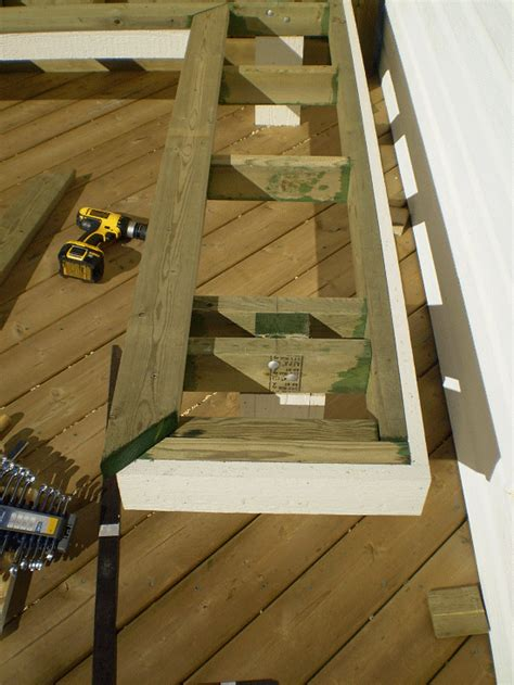 build bench on deck the diyers photos deck bench project made by fred page 3