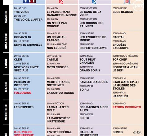 program tv le pen programme