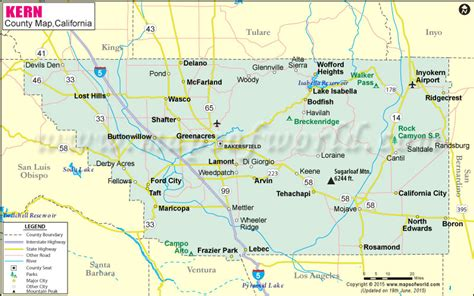 california map kern county buying opportunity