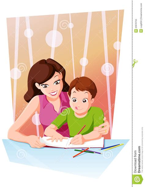 done with the help and healing for mothers of estranged children books homework with stock vector image of parent smiling