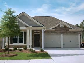 Craftsman style ranch homes retirement community craftsman style ranch