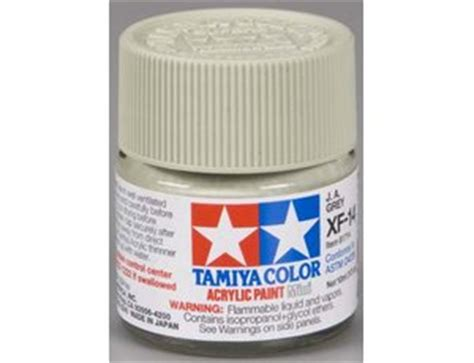 Sale Tamiya Acrylic Xf 14 J A Grey Cat Gundam Model Kit tamiya mini xf 14 flat ja grey 10ml acrylic paint 81714