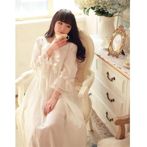 vintage nightgowns womens vintage pajamas autumn cotton women s princess white nightgowns vintage