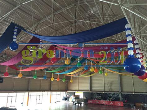 decorar con globos y telas decoraci 243 n de pavellones con globos y telas giram 243 n