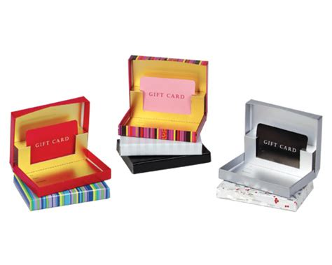Gift Boxes For Gift Cards - pop up gift card box gift card holders boxes parc packaging