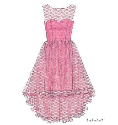 sewing pattern creator create it dress sewing pattern from mccall s lets you